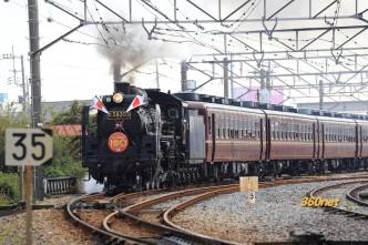 SLパレオエクスプレス秩父地域開通100周年記念号