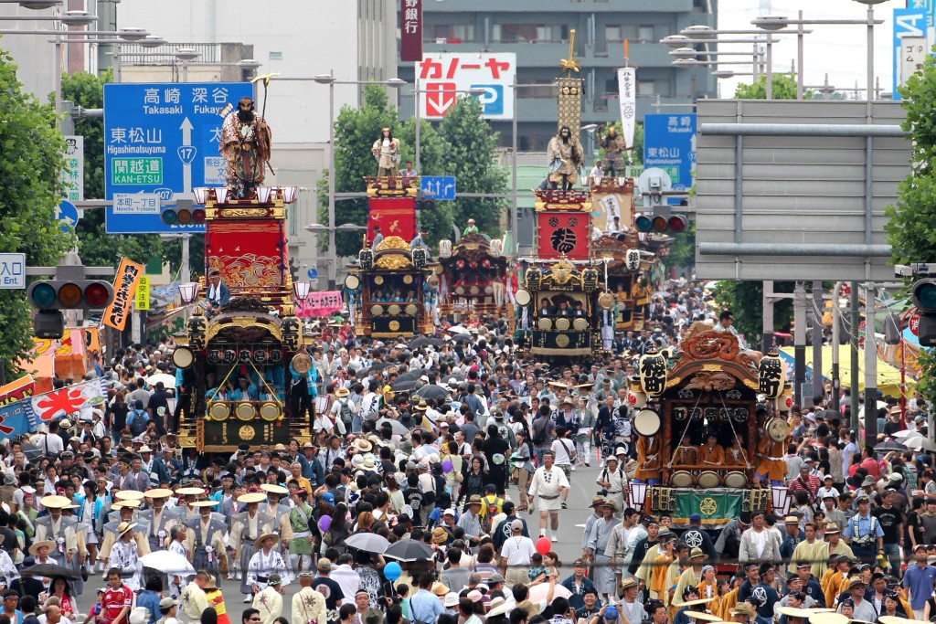 関東一の祇園 熊谷うちわ祭