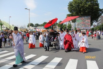 熊谷うちわ祭 巡行祭